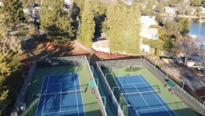 Lake of the Pines tennis courts